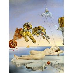 Salvador Dali | Сальвадор Дали | Сон, навеянный полетом пчелы вокруг граната, за секунду до пробуждения