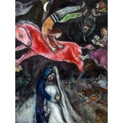 Chagall Marc | Шагал Марк | Красный конь