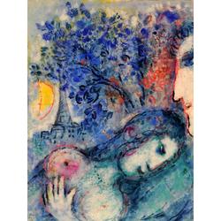 Chagall Marc | Шагал Марк | Любовники
