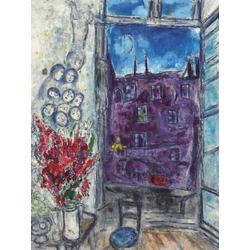 Chagall Marc | Шагал Марк | Окно на даче