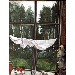 Chagall Marc | Шагал Марк | Окно