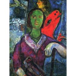 Chagall Marc | Шагал Марк | Портрет Вавы