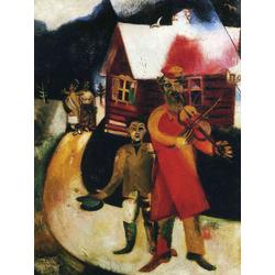 Chagall Marc | Шагал Марк | Скрипач II