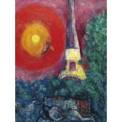 Chagall Marc | Шагал Марк | Эйфелева башня