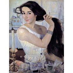 Serebryakova Zinaida | Серебрякова Зинаида | За туалетом