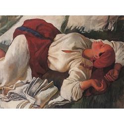 Serebryakova Zinaida | Серебрякова Зинаида | Спящая крестьянка