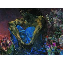 Врубель Михаил | Демон сидящий