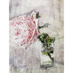 Врубель Михаил | Роза в стакане