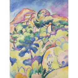 Braque Georges | Брак Жорж | Пейзаж в Ла-Сьота