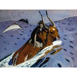 Серов Валентин Александрович | Похищение Европы