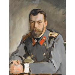 Серов Валентин Александрович | Портрет императора Николая II