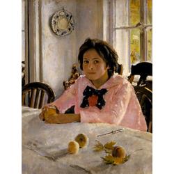 Серов Валентин Александрович | Девочка с персиками