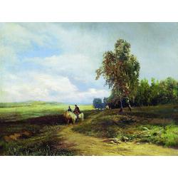 Васильев Фёдор Александрович | Пейзаж с облаками