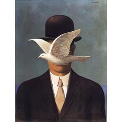 Magritte Rene | Магритт Рене | Человек в котелке