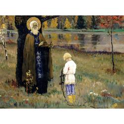 Нестеров Михаил Васильевич | Видение отроку Варфоломею