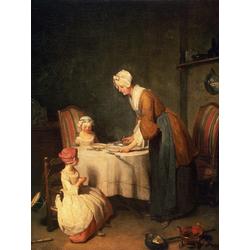 Жан Батист Симеон Шарден | Молитва перед обедом