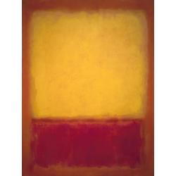 Rothko Mark | Ротко Марк | Желтый над фиолетовым