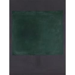 Rothko Mark | Ротко Марк | Зеленый на пурпурном