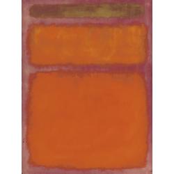 Rothko Mark | Ротко Марк | Оранжевое, красное, желтое