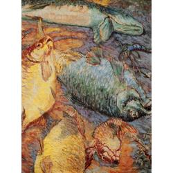 Ларионов Михаил Федорович | Рыбы при заходящем солнце