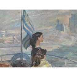 ПименовЮрий (Георгий)Иванович | Отплытие на остров Эгина