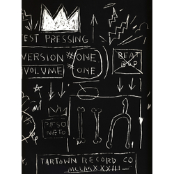 Basquiat J.M. | Баския Жан-Мишель | Couverture de Beat Bop