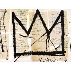 Basquiat J.M. | Баския Жан-Мишель | Sans Titre (Crown)