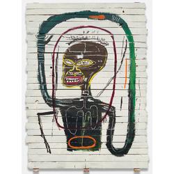 Basquiat J.M. | Баския Жан-Мишель | Flexible Acrylique et Crayon gras sur bois