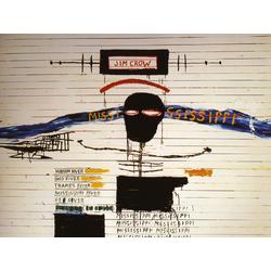 Basquiat J.M. | Баския Жан-Мишель | Jim Crow Acrylique et Crayon gras sur bois