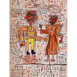 Basquiat J.M. | Баския Жан-Мишель | Автопортрет