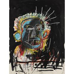Basquiat J.M. | Баския Жан-Мишель | Без названия