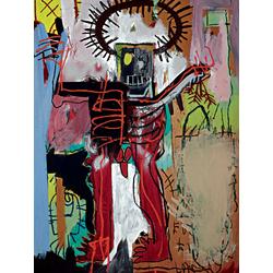 Basquiat J.M. | Баския Жан-Мишель | Без названия (Фигура)