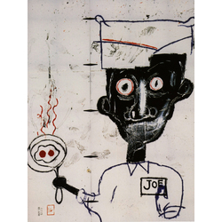 Basquiat J.M. | Баския Жан-Мишель | Глаза и яйца