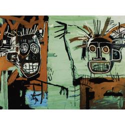 Basquiat J.M. | Баския Жан-Мишель | Две головы
