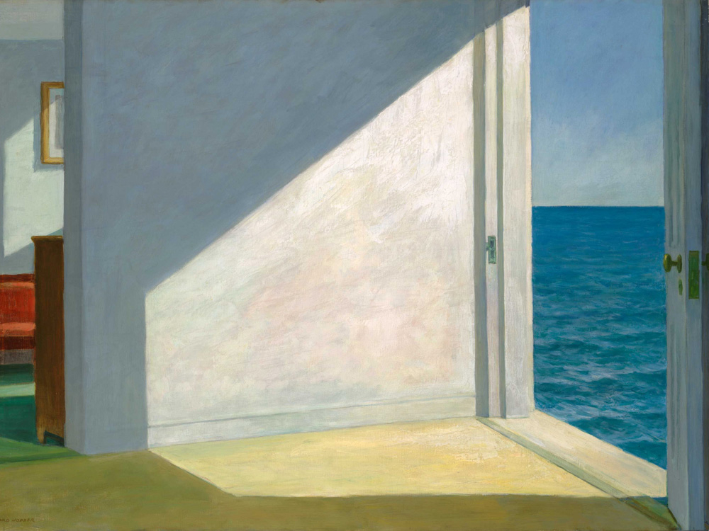 Edward Hopper | Хоппер Эдвард | Rooms by the Sea