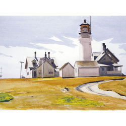 Edward Hopper | Хоппер Эдвард | Highland Light