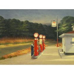 Edward Hopper | Хоппер Эдвард | Заправочная станция