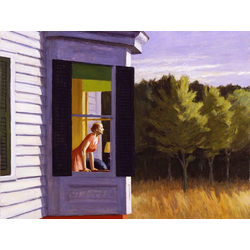 Edward Hopper | Хоппер Эдвард | Кейп-Код Утро