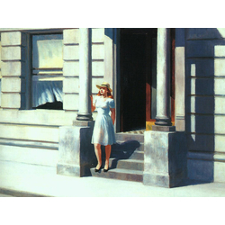 Edward Hopper | Хоппер Эдвард | Летнее Время