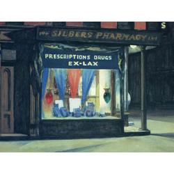 Edward Hopper | Хоппер Эдвард | Аптека