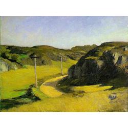 Edward Hopper | Хоппер Эдвард | Дорога в штате Мэн