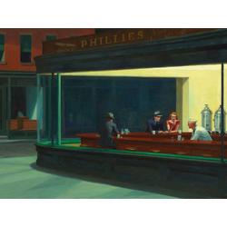 Edward Hopper | Хоппер Эдвард | Полуночники