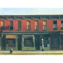 Edward Hopper | Хоппер Эдвард | Раннее воскресное утро