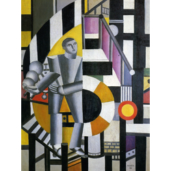 Leger Fernand | Леже Фернан | Lhomme la pipethe man with the pipe