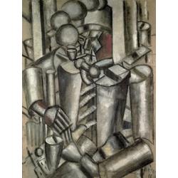Leger Fernand | Леже Фернан | Солдат с трубкой