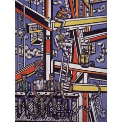 Leger Fernand | Леже Фернан | Строители с веревкой