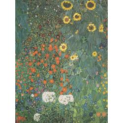 Gustav Klimt | Farm Garden with Sunflowers