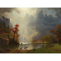 Albert Bierstadt | Альберт Бирштадт | Утро в Сьерра-Невада