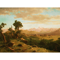 Albert Bierstadt | Альберт Бирштадт | Wind River Country