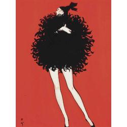 Rene Gruau | Рене Грюо: Dior Eau Sauvage